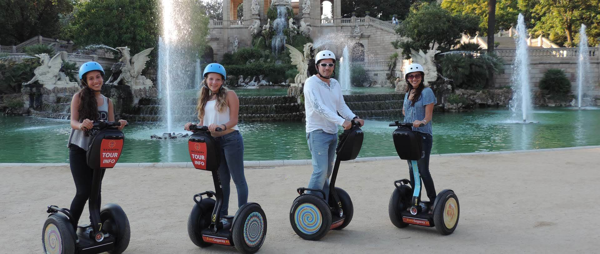 Amazing segway tour in Barcelona