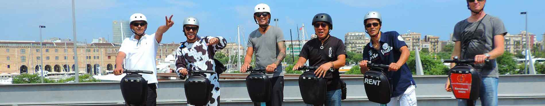 Segway Touring Barcelona with Euro Segway