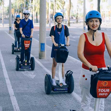 Segway tour Passeo de Colom, Barcelona