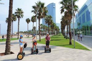 Beach-Segway-Tour-Barcelona