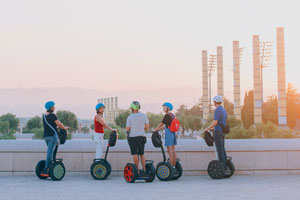 Montjuic Grand Segway Tour