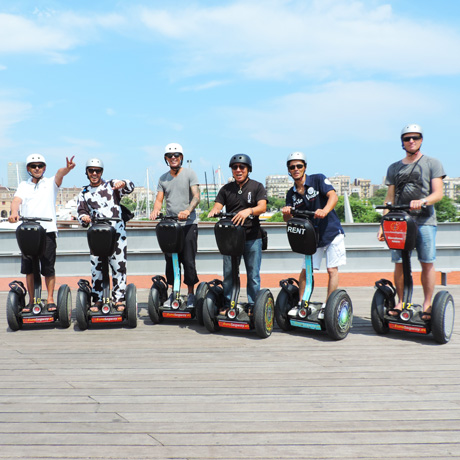 Segway events in Barcelona