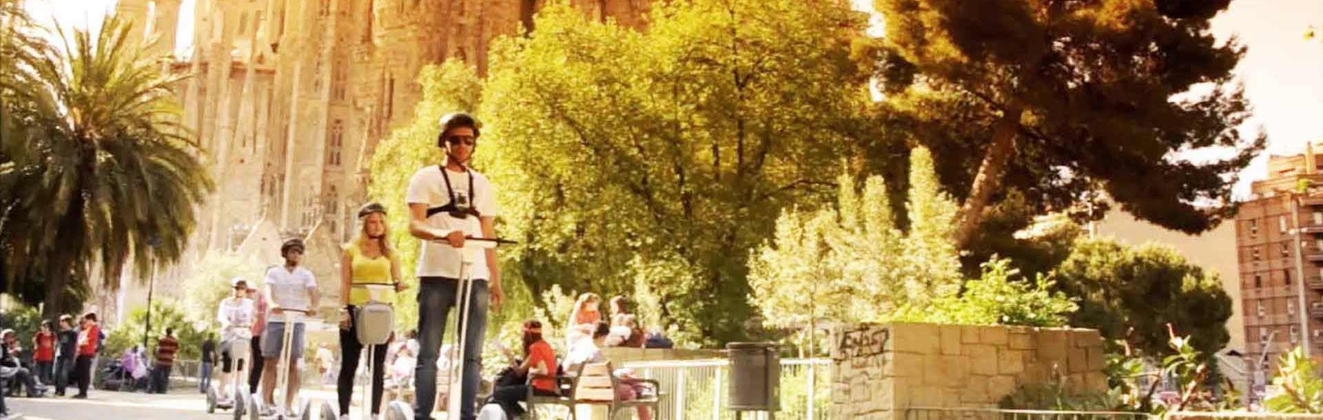 Gaudi segway tour route