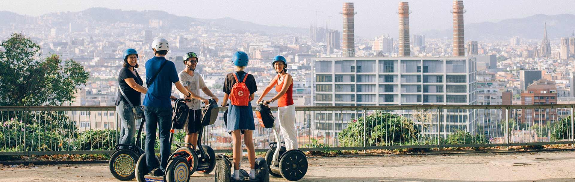 Montjuïc Sightseeing Segway Tour